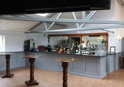 Repainted bar by GPS Decorators