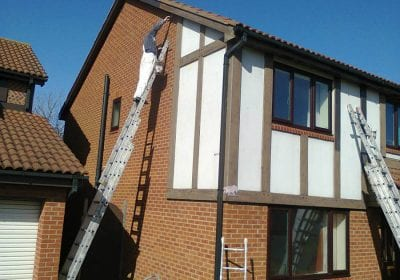 GPS Decorators Limited painting house exterior