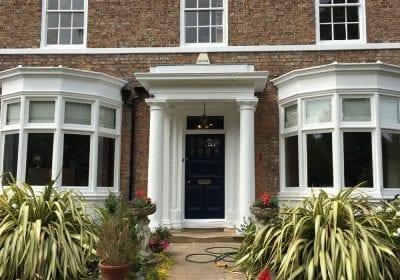 House exterior woodwork painting Darlington