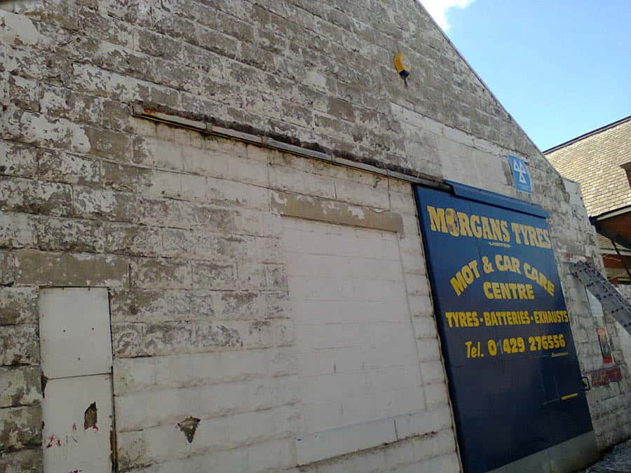 Commercial _Painting _Project _GPS _Decorators _Morgans _Tyres _Hartlepool