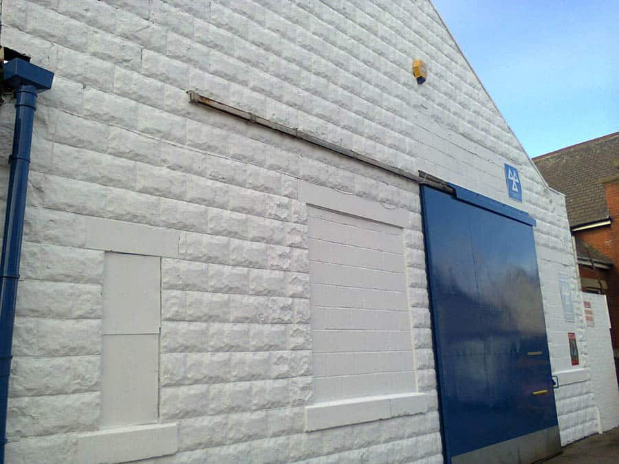 Commercial Painting Project GPS Decorators Morgans Tyres Hartlepool