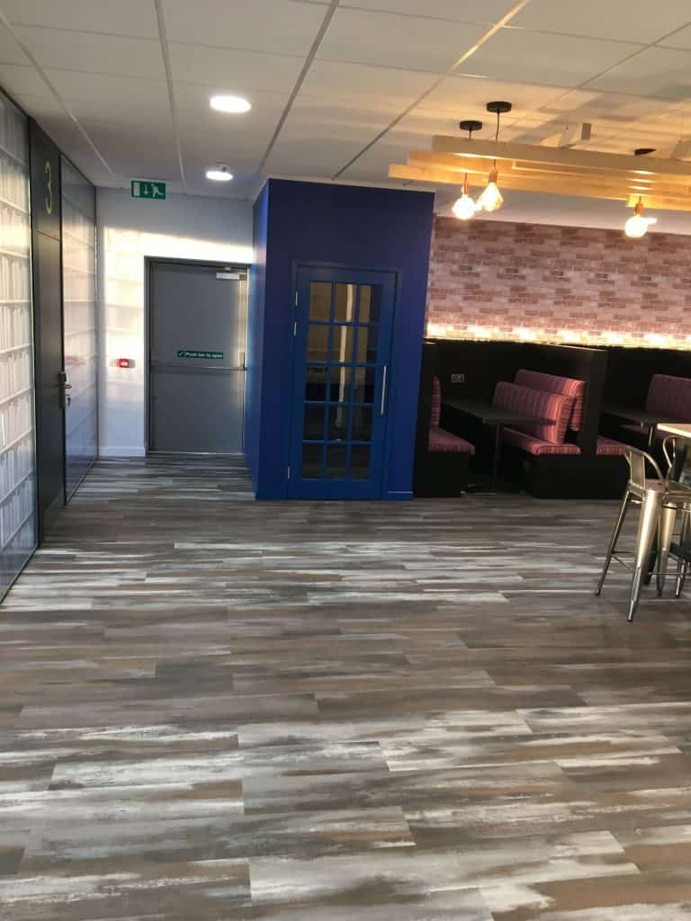 Commercial _Painting _Project _GPS_Decorators_ Level _Q _Offices _Stockton
