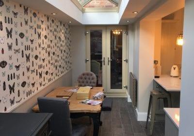 Professional painted kitchen Stockton