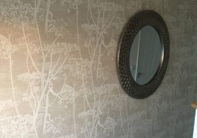 Wallpapered wall Stockton on Tees