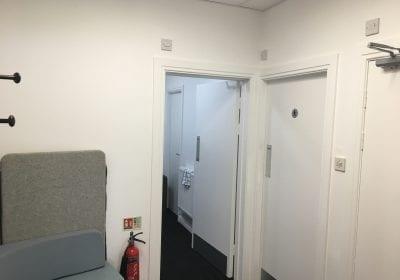 Office lavatories painted Hartlepool